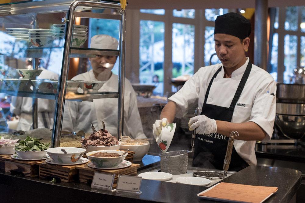 Vietnamese Noodles Town Restaurant - The Fullerton Hotel, Singapore