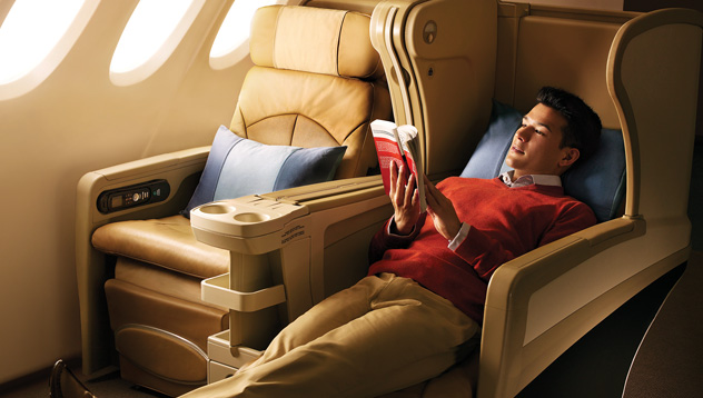 Regional Business Class on Singapore Airlines | Photo Credit: Singapore Airlines