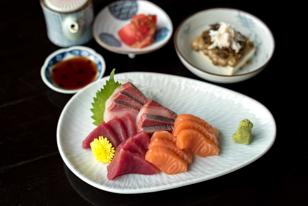 Unlimited Sashimi and Sushi    Kinki Restaurant and Bar