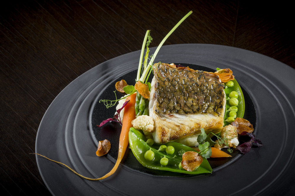 Red Snapper with Garlic Mash Potatoes and Sautéed Vegetables | Photo Credit: Hilton Singapore