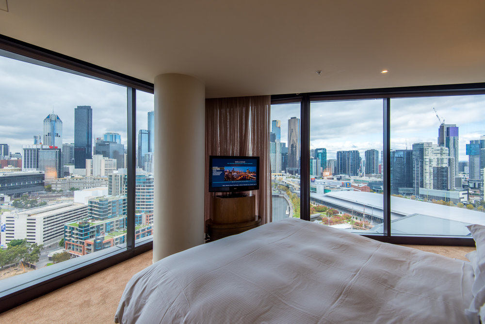 Bedroom Relaxation Suite - Hilton Melbourne South Wharf