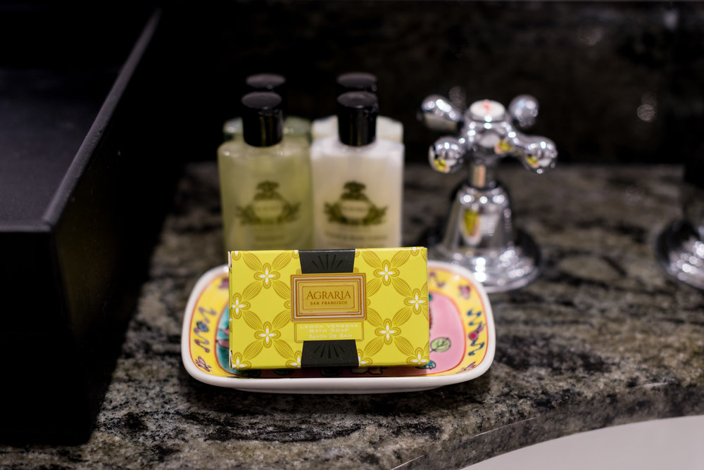 Bath Amenities by Agraria Premier Suite - InterContinental Singapore