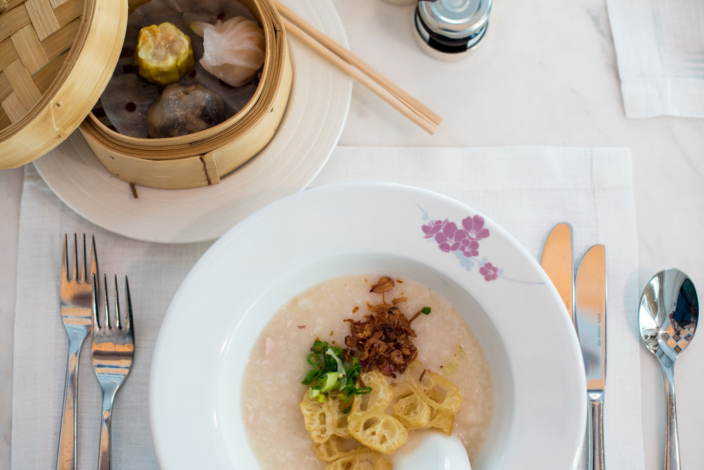 Dim Sum Breakfast at Club InterContinental  InterContinental Singapore
