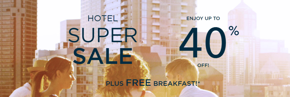Save up to 40% on AccorHotels and Enjoy Free Breakfast | Photo Credit: AccorHotels
