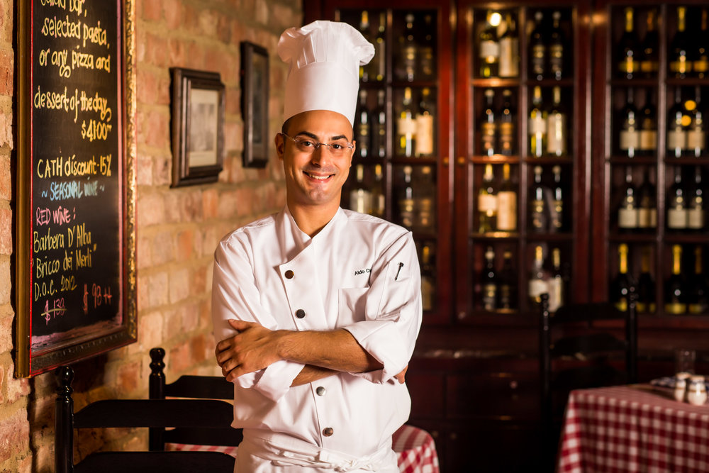 Chef Aldo Chiloiro  | Photo Credit: Grand Hyatt Singapore