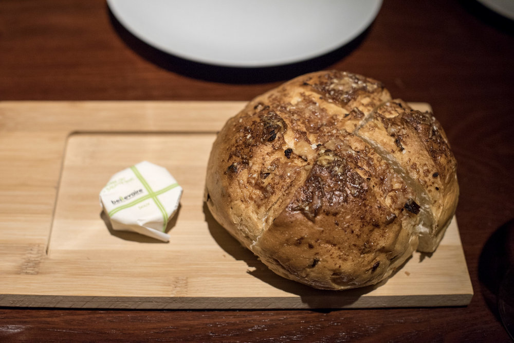 Warm Onion Bread Opus Bar & Grill - Hilton Singapore