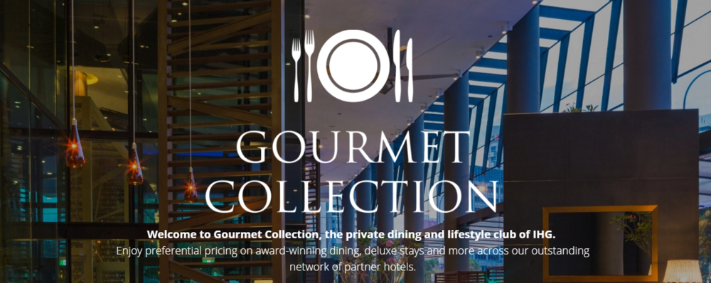 IHG   Gourmet Collection Membership | Photo Credit: Gourmet Collection