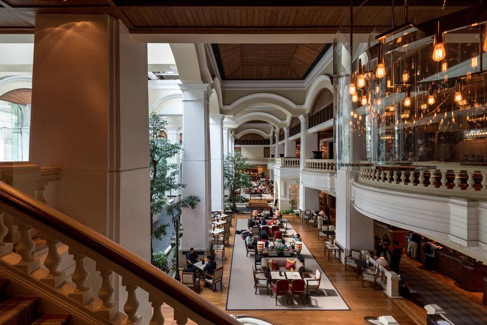 Hotel Lobby  Grand Hyatt Erawan Bangkok