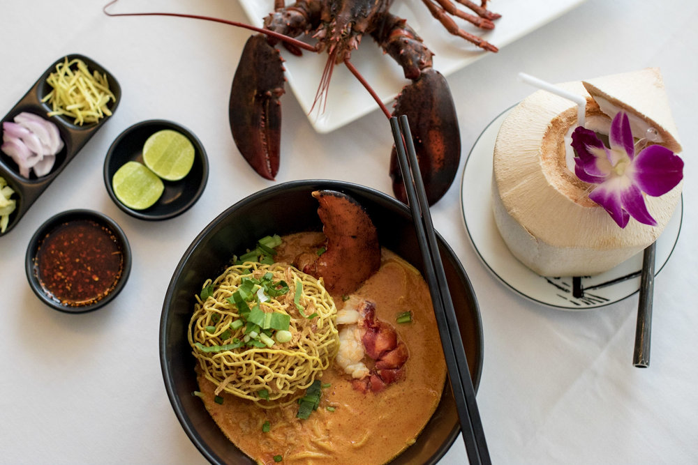 Lobster Khao Soi  You & Mee - Grand Hyatt Erawan Bangkok