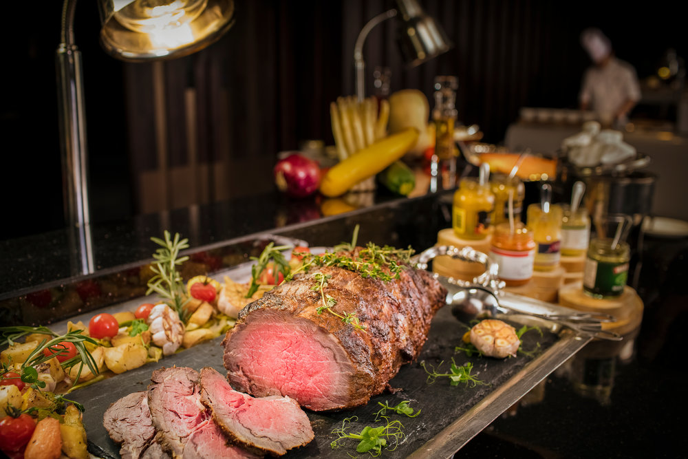 Roast Beef Ash & Elm - InterContinental Singapore
