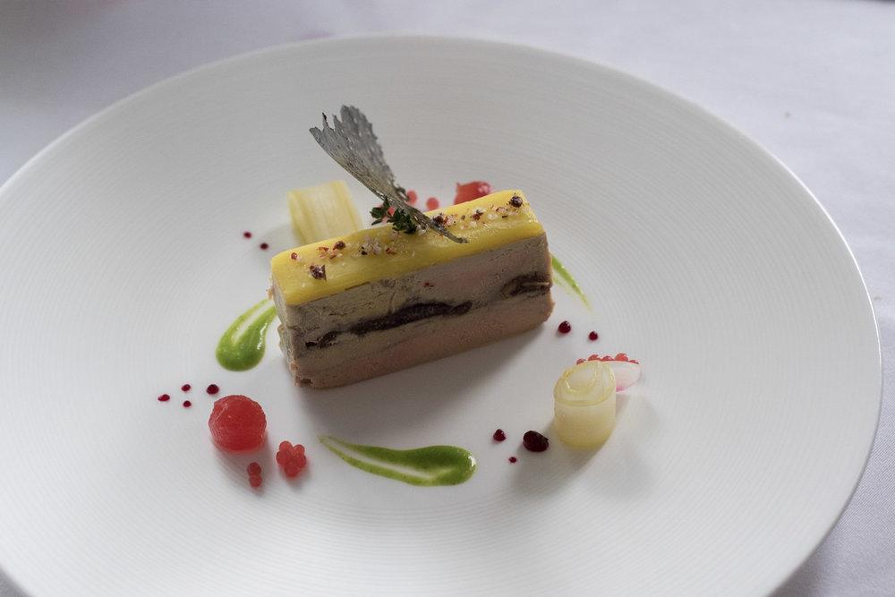 Foie Gras Terrine with Dry Dates  Gourmet by Le Planteur - Yangon, Myanmar