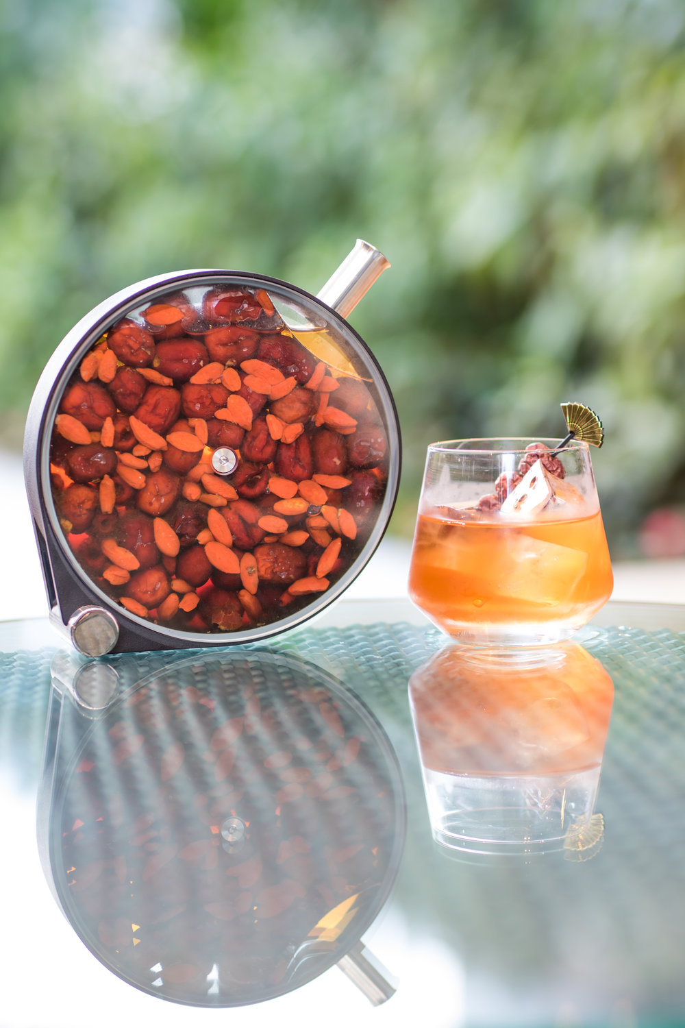 Goji Old Fashioned  | Photo Credit: Mandarin Oriental, Singapore