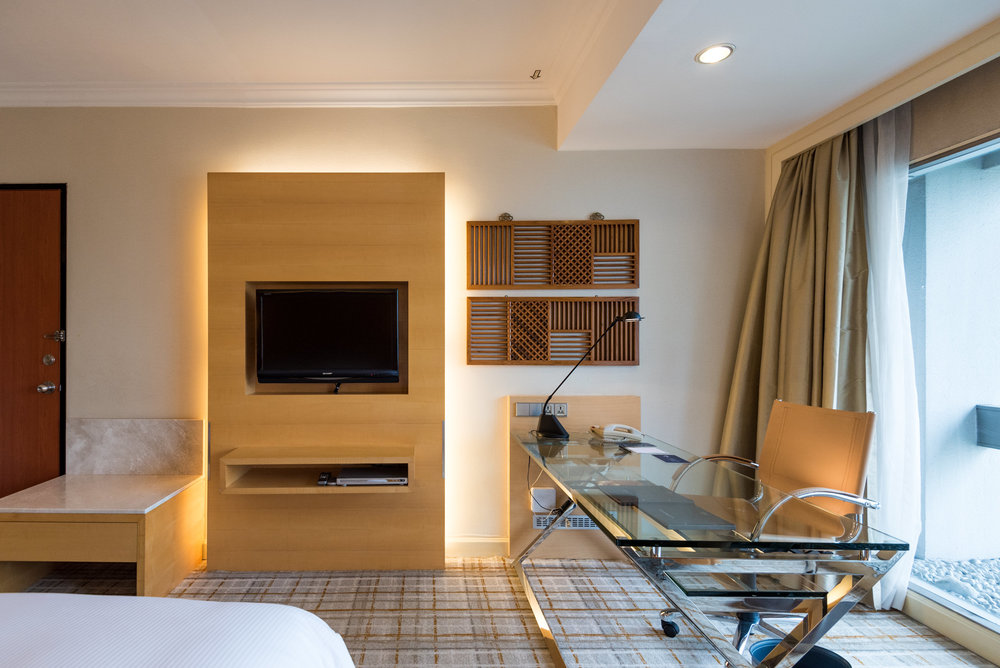 Bedroom Executive Room - Hilton Singapore