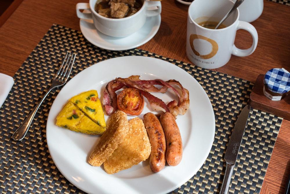 Breakfast  Cafe Sule - Sule Shangri-La, Yangon