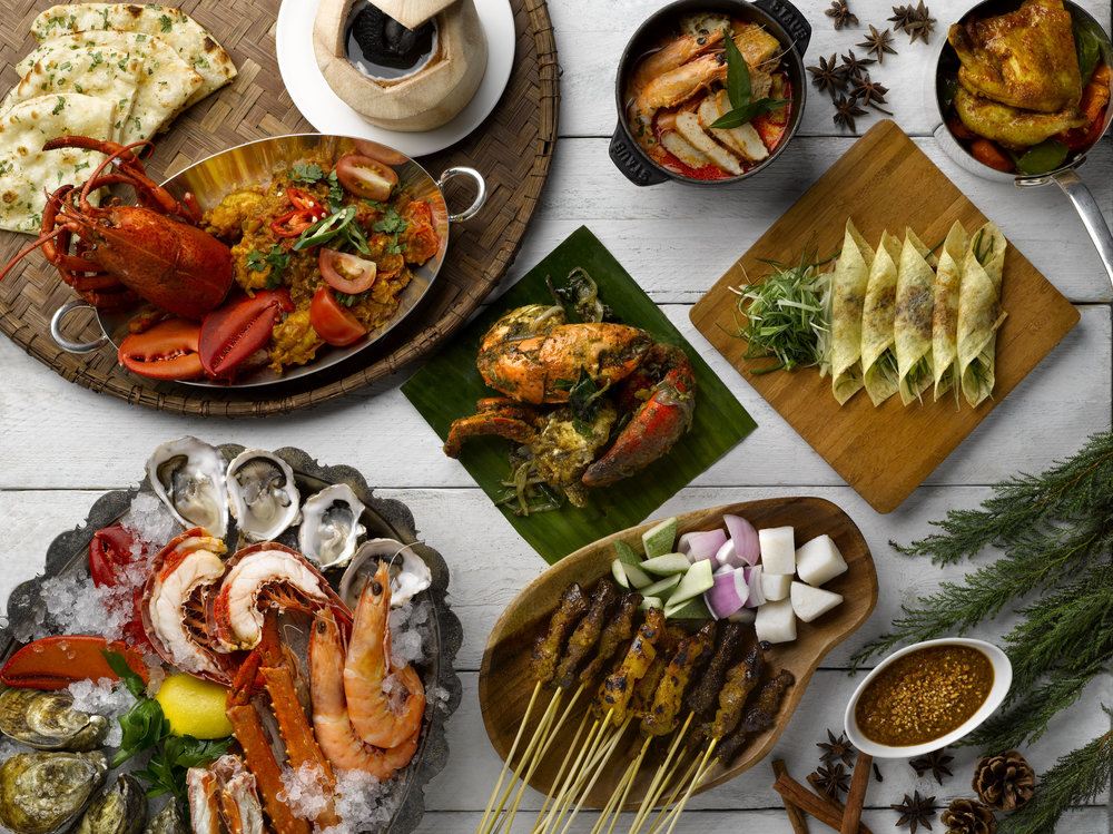Straits Kitchen Festive Buffet | Photo Credit: Grand Hyatt Singapore