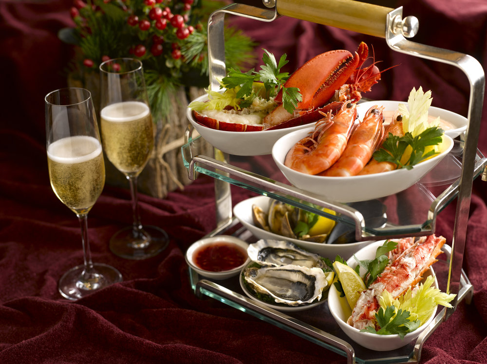 Christmas Buffet at 10 Scotts | Photo Credit: Grand Hyatt Singapore