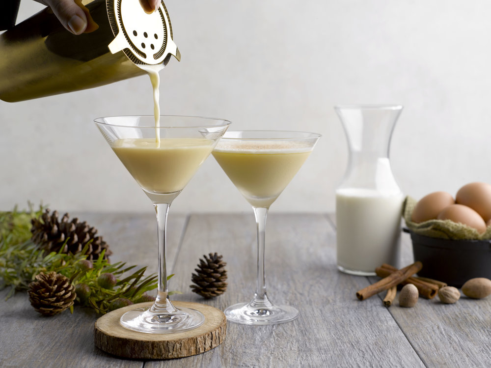 Eggnog Martini | Photo Credit: Grand Hyatt Singapore