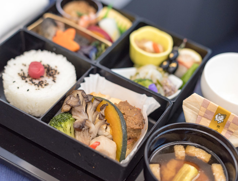 Japanese Cuisine (Washoku) ANA Business Class 787-900 - NH859 (HND-HKG)