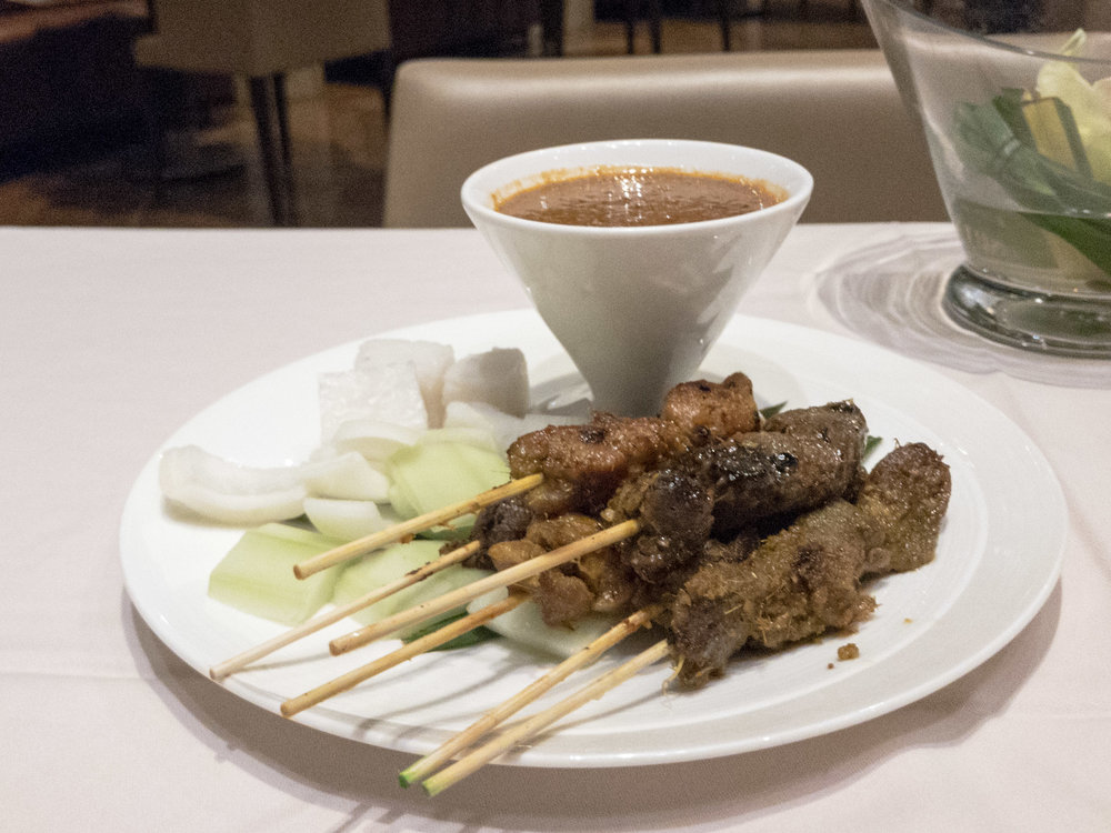 Assorted Satay  The Private Room by Singapore Airlines (Changi Airport)