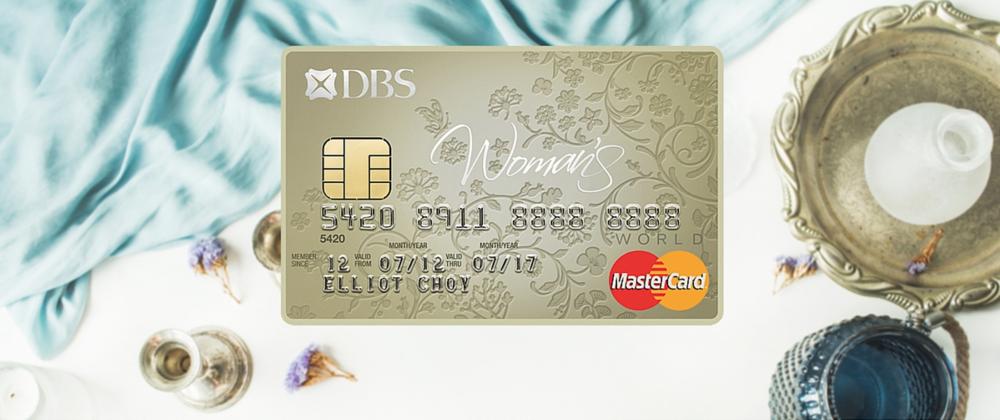 DBS Woman's World MasterCard | Photo Credit: DBS