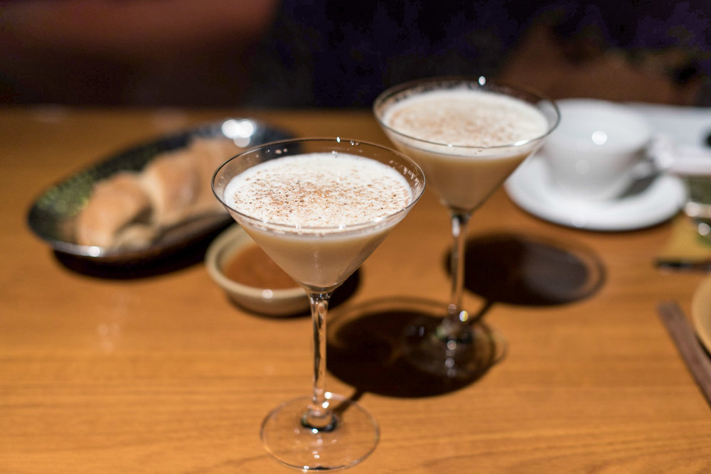 Eggnog Martini (S$11++)  mezza9 - Grand Hyatt Singapore