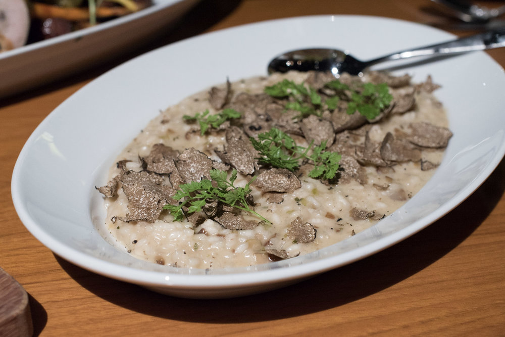 Chestnut, Winter Truffle Risotto (S$28++)  mezza9 - Grand Hyatt Singapore