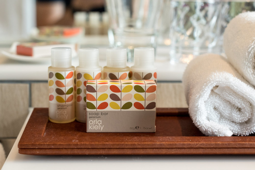 Bath Amenities - Business Room (King) Crowne Plaza Changi Airport