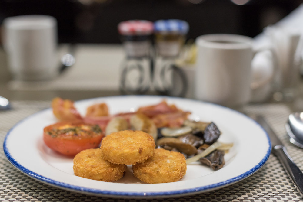 Breakfast at Azur Crowne Plaza Changi Airport