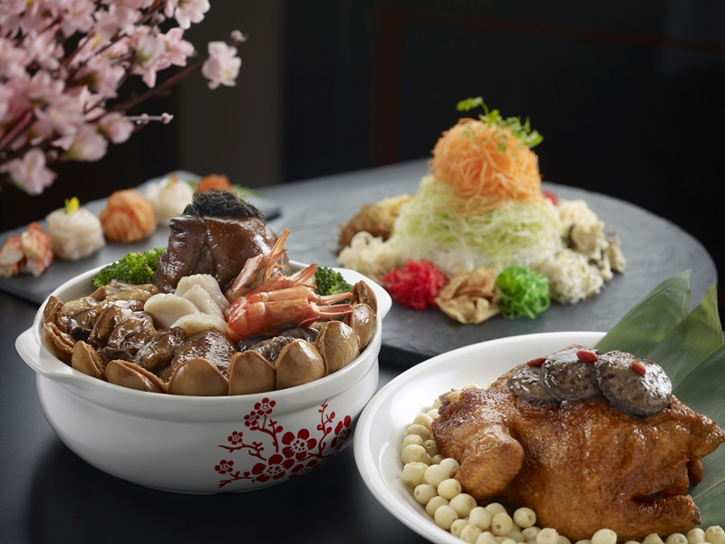 Premium Wealth Treasures Takeaway Set at Hai Tien Lo | Photo Credit: Pan Pacific Singapore