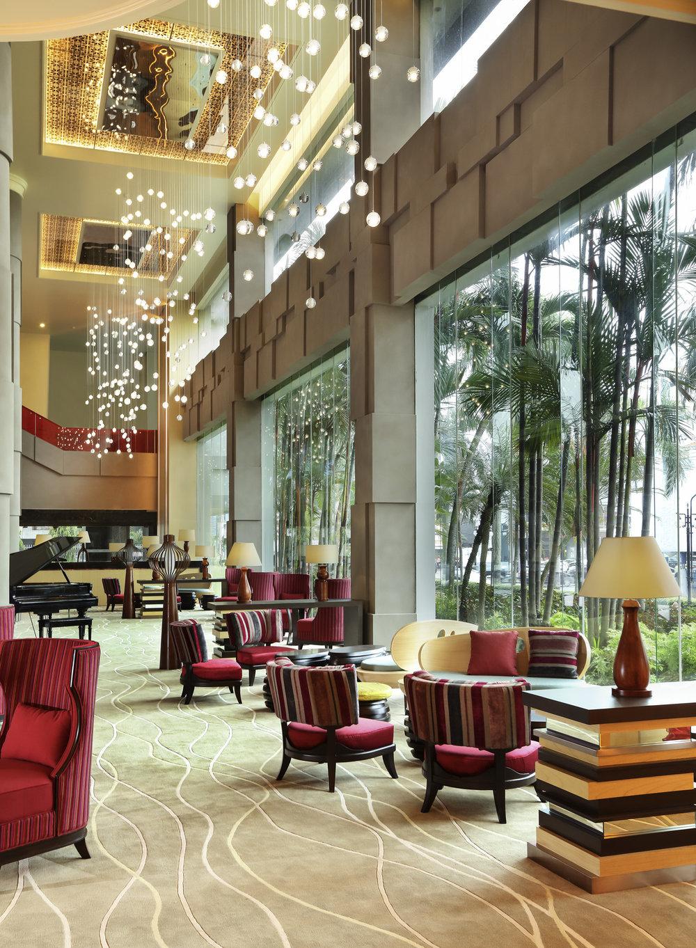 Hotel Lobby | Photo Credit: Grand Mercure Medan Angkasa