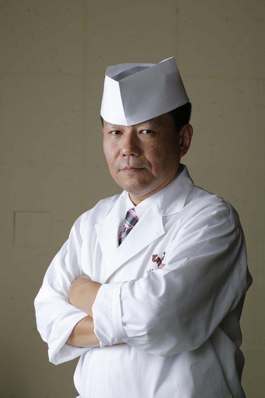 Takeshi Kikuchi, Head Chef, Tokyo Shiba Tofuya Ukai.jpg