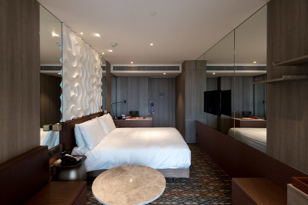 Bedroom - Business Room (King) Crowne Plaza Changi Airport