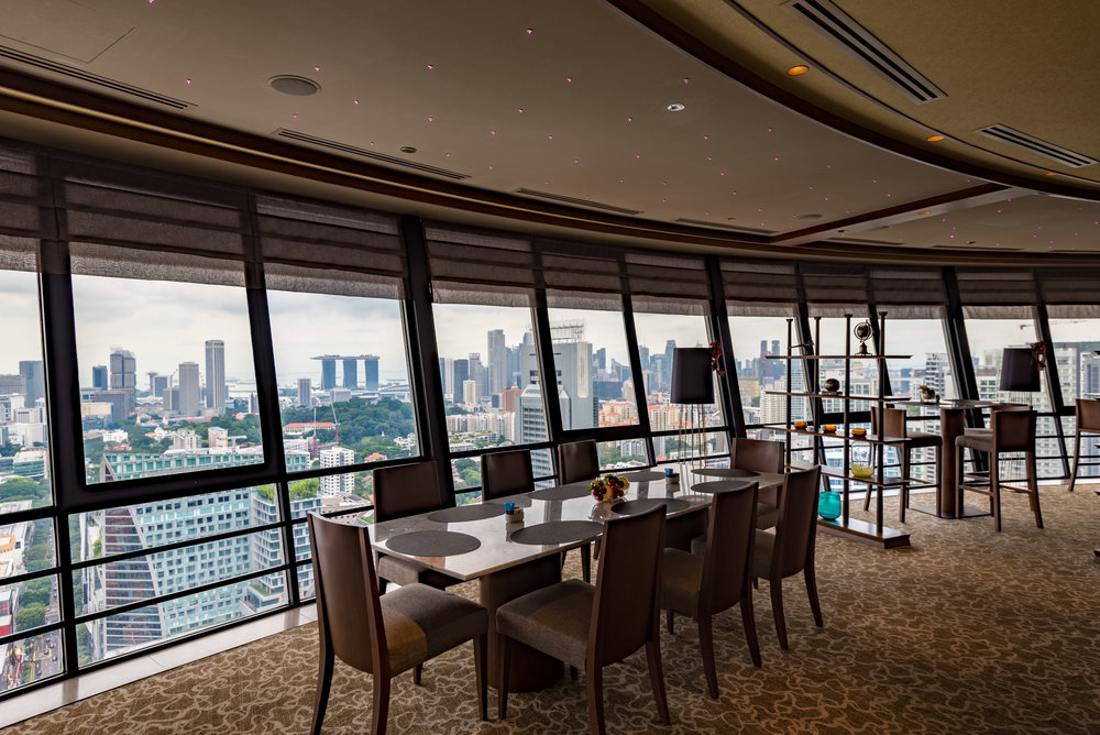 Meritus Club Lounge at Top of the M Mandarin Orchard