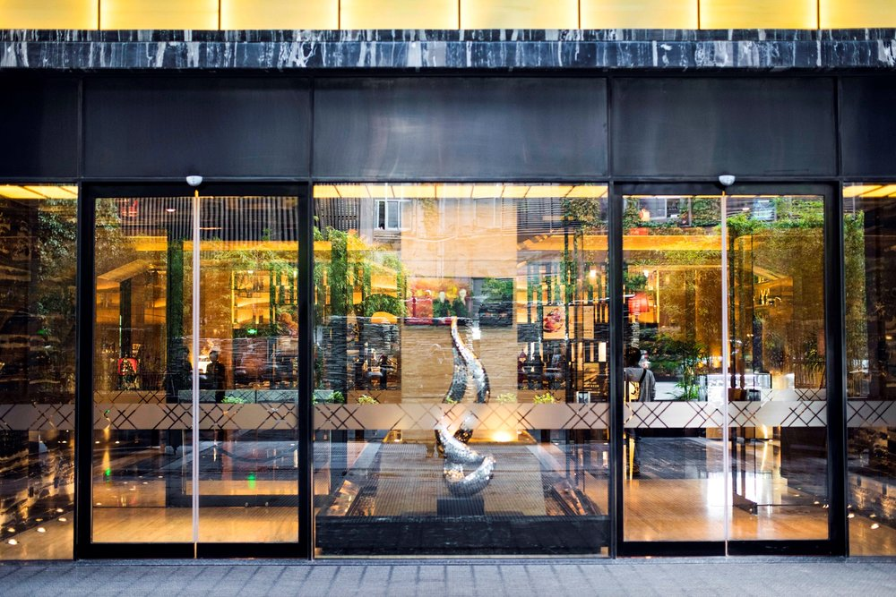 Hotel Entrance | Photo Credit: Pullman Shanghai Jing'An
