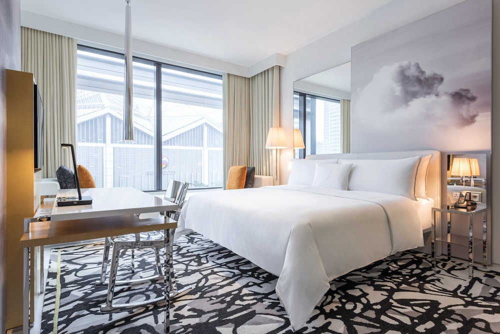 Deluxe Room | Photo Credit: JW Marriott Hotel Singapore South Beach