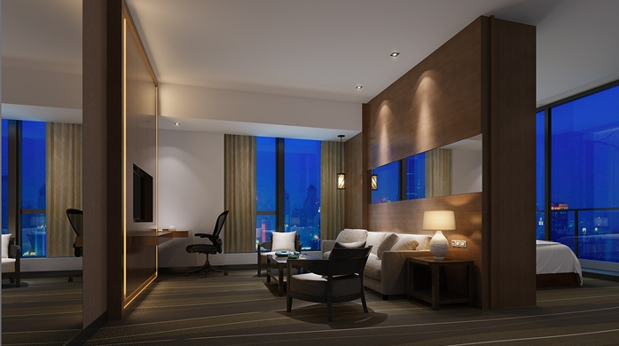 Deluxe Suite | Photo Credit: Hilton Garden Inn Hong Kong Mongkok