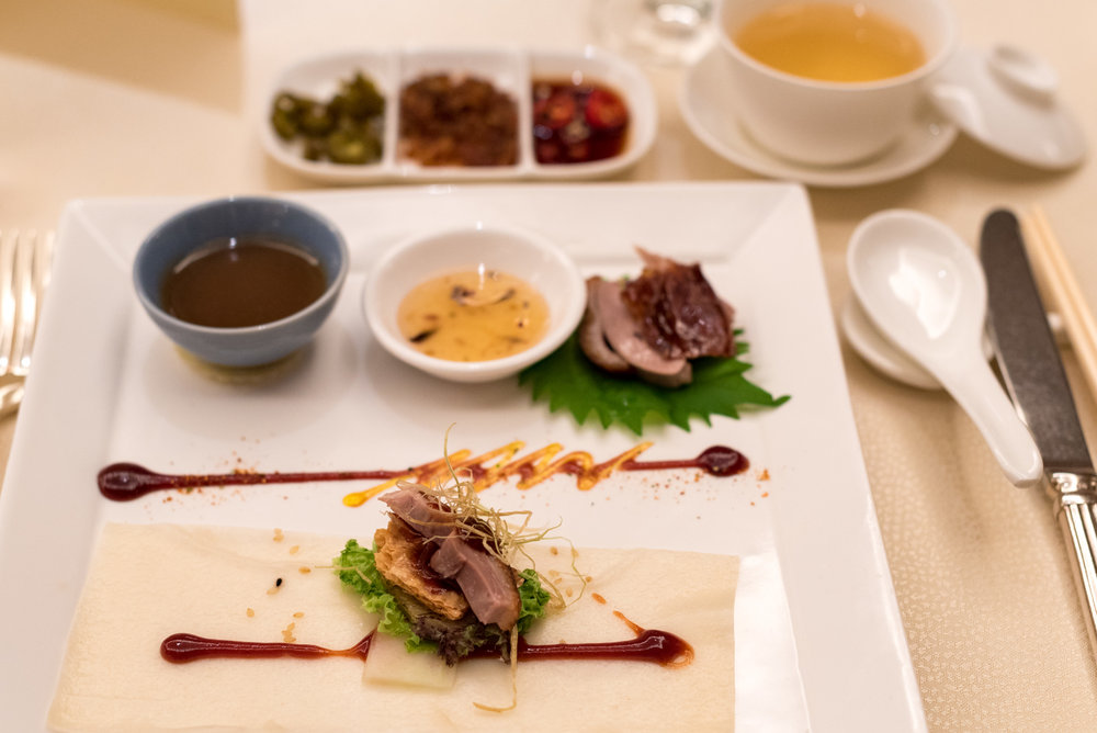Signature Roast London Duck  Golden Peony - Conrad Centennial Singapore