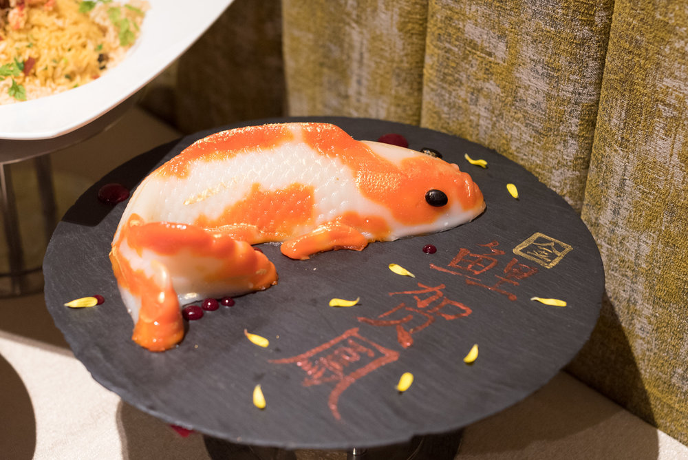 "Homemade Koi Fish Nian Gao (Batter Deep-fried) ""鲤鱼贺年"" 年糕 (酥炸)  Mitzo - Grand Park Orchard"