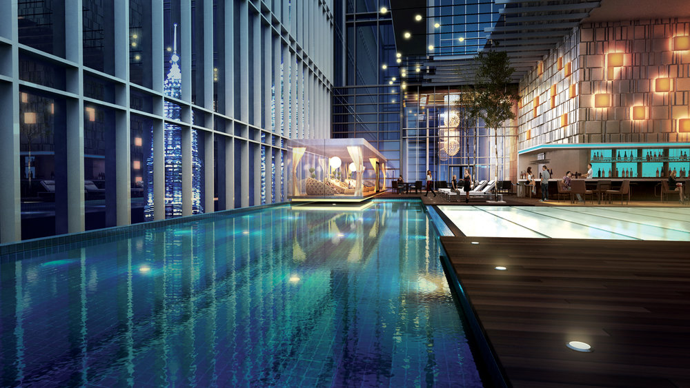 Swimming Pool | Photo Credit: Four Seasons Kuala Lumpur
