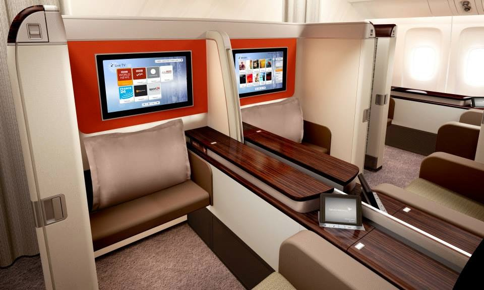 First Class | Photo Credit: Garuda Indonesia