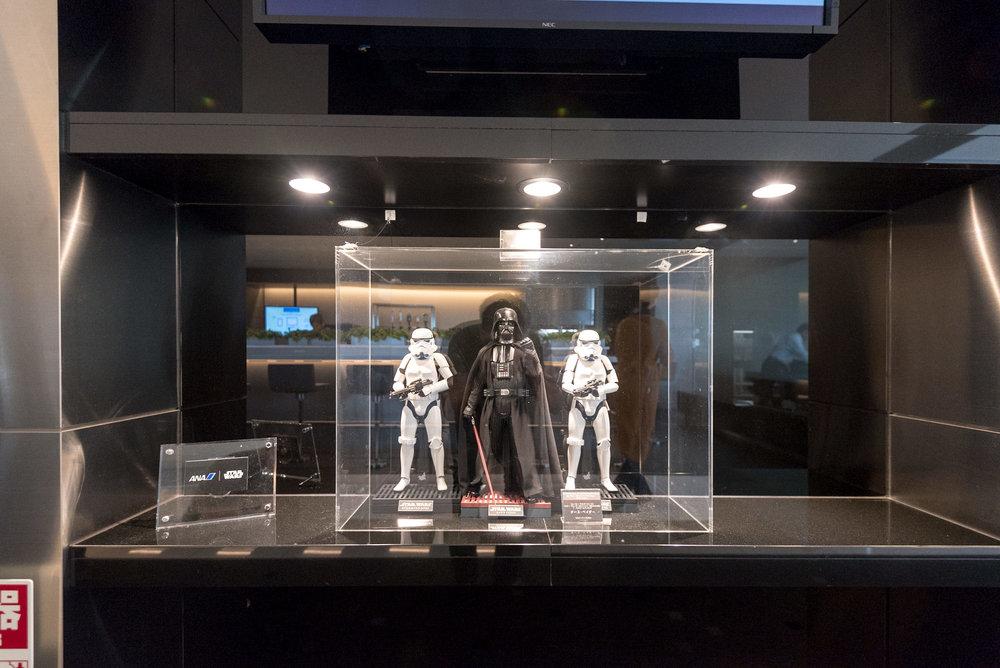 Star Wars - ANA Lounge  Haneda Airport (International Terminal)