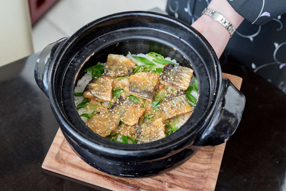 Steamed Japanese Rice with Pacific Saury   Kazahana - Conrad Tokyo