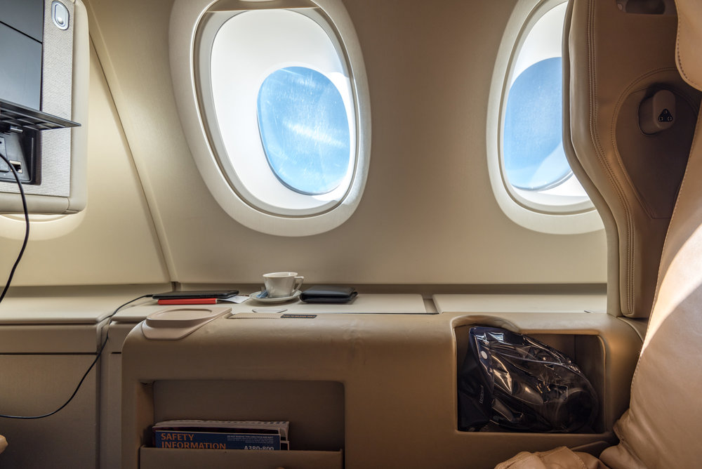 Trip report singapore airlines business class a380 800 hkg to sin hong kong to singapore - Delta airlines hong kong office ...