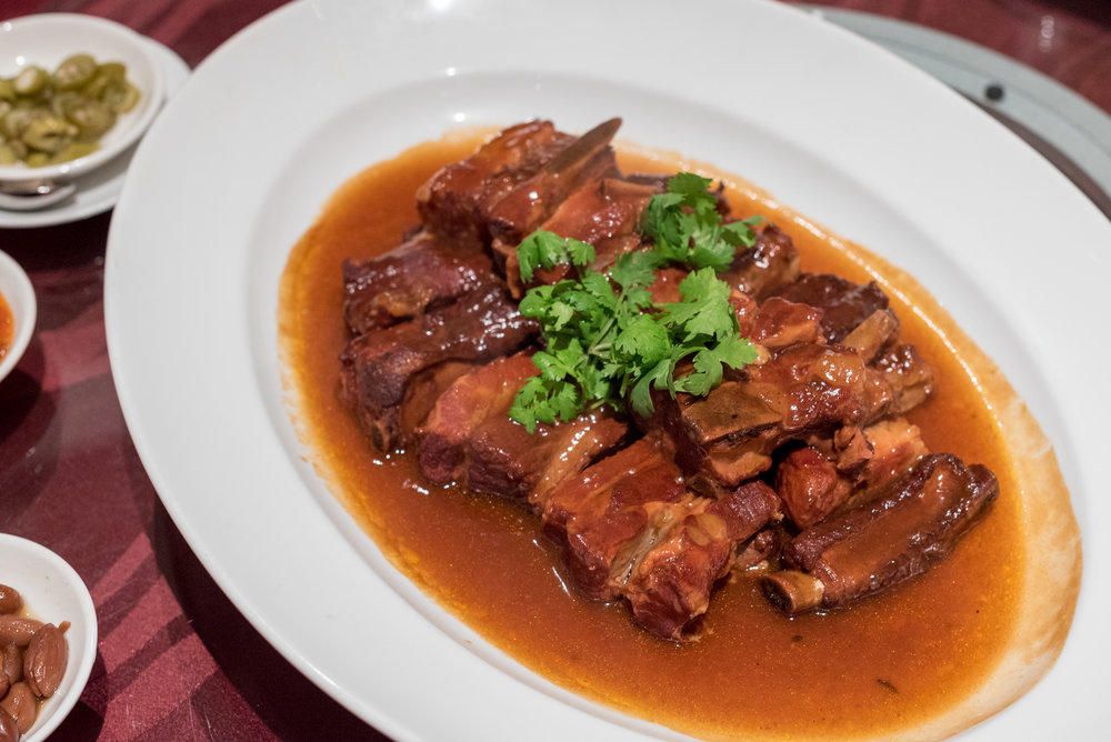 Stewed Spare Ribs with Hawthorn and Preserved Plum Wan Hao - Singapore Marriott Tang Plaza Hotel