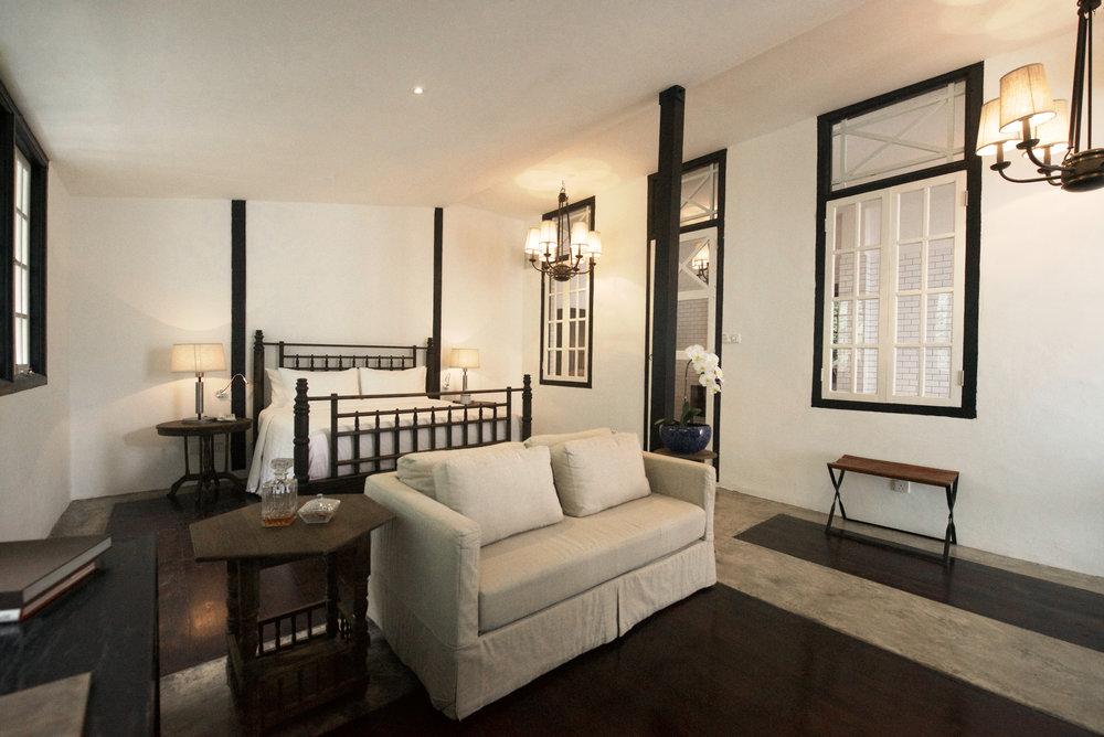 Luxe Sarang Bedroom | Photo Credit: Villa Samadhi Singapore