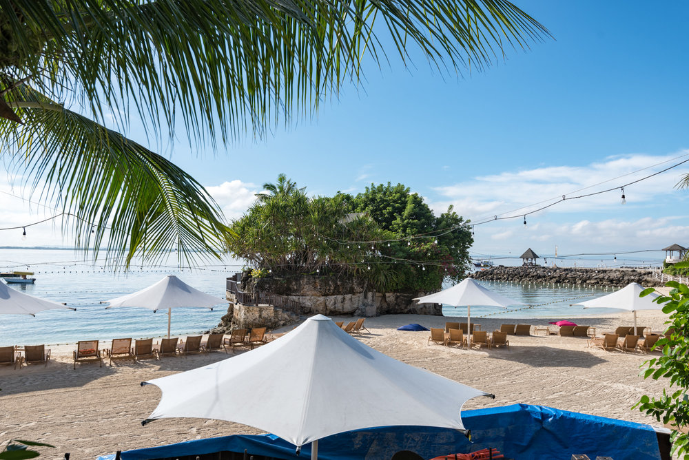 Private Beach and Marine Sanctuary Shangri-La's Mactan Resort and Spa, Cebu