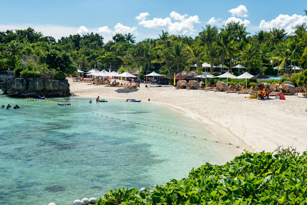 Private Beach and Marina Sanctuary Shangri-La's Mactan Resort and Spa, Cebu