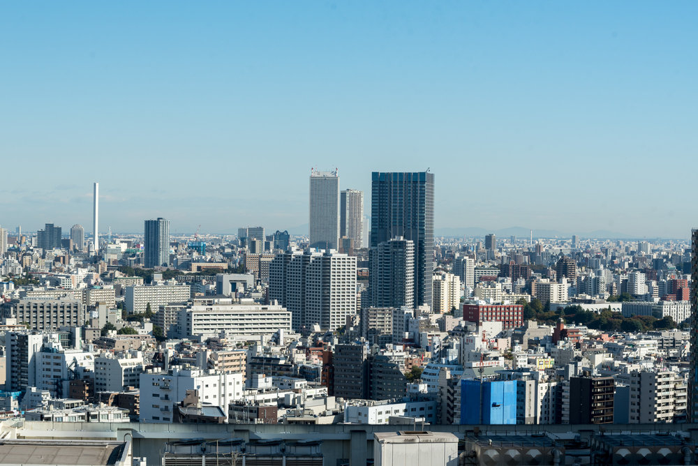 View from Bedroom  King Executive Room - Hilton Tokyo (Shinjuku)