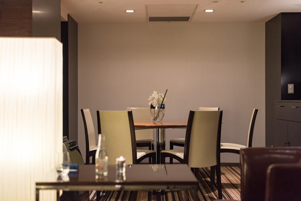 Evening Cocktails - Executive Lounge  King Executive Room - Hilton Tokyo (Shinjuku)