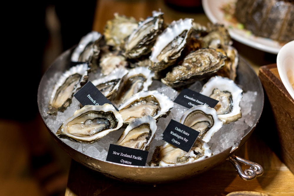 Five Varietals of Oysters - Spring Time Oyster Rhapsody 10 at Claymore - Pan Pacific Orchard